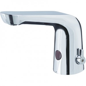 BRISTAN Infrared Temperature Control Automatic Basin Spout Brushed Nickel
