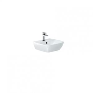 Britton My Home Basin 40cm One tap hole - White [MY40BSN1THW]