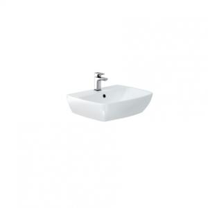 Britton My Home Basin 55cm One tap hole - White [MY55BSN1THW]