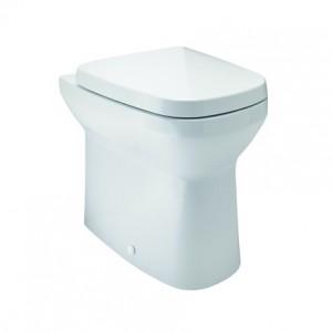 Britton Shoreditch  Round Soft Close Seat - White [SHR047]