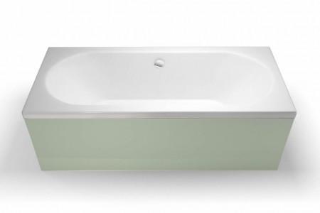 Britton BS1 Hinged Bath Screen - Chrome