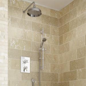 BRISTAN Complete Renaissance 2 Recessed Dual Control Shower Pack