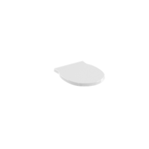 Britton Compact Sanitaryware Round semi pedestal - White [SP1033]