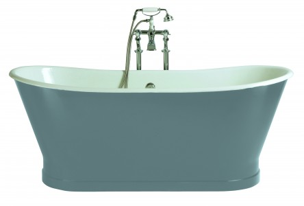 HERITAGE BRT76 1700mm Maderia Cast Iron Double Ended Bath with No Tapholes