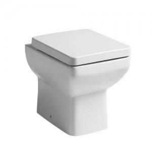 Tavistock Q60 Soft Close WC Seat with chrome fittings - White [TS900S]