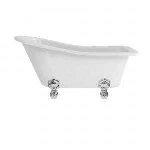 Burlington E6 Buckingham Slipper Freestanding Bath 1500 x 750mm