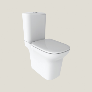 Imex Ceramics C10134C Grace Open Backed Close Coupled High Pan 430mm White