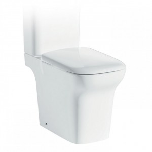 IMEX - Grace Comfort Height Close Coupled Open Back Rimless WC (excluding seat)  C10134CR
