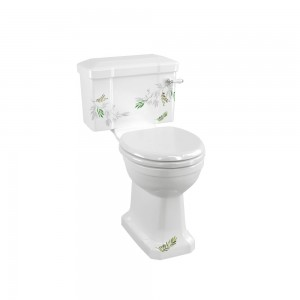 Burlington C1FORE Bespoke Spring Forest Close Coupled & Low Level Cistern 510mm