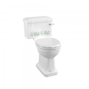 Burlington C1MEAD Bespoke Country Meadow Close Coupled & Low Level Cistern 510mm