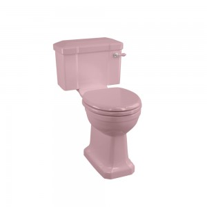 Burlington C1PINK Bespoke Confetti Pink Close Coupled & Low Level Cistern 510mm