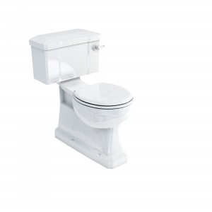 Burlington C30 Extended Depth Close Coupled & Low Level Cistern with Ceramic Lever & Fittings
