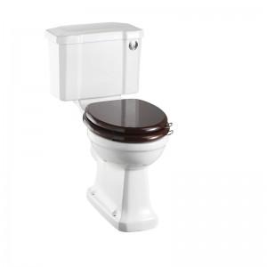 Burlington C4 Slimline Close Coupled & Low Level Cistern with Chrome Front Push Button Flush