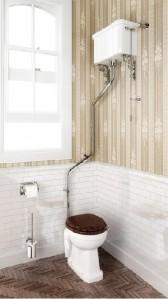 Burlington C5 High Level Dual Flush Cistern