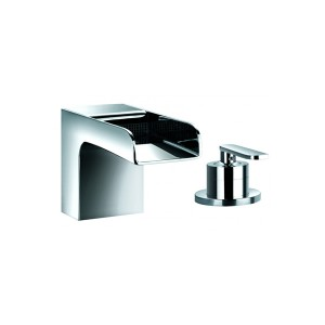 FLOVA Cascade 2-hole bath filler