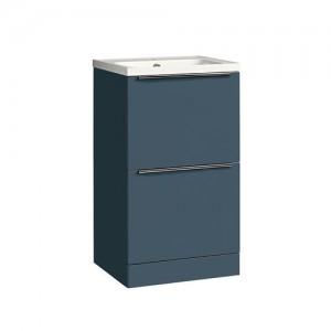 Tavistock CA500FOB Cadence 50cm Floorstanding Vanity Unit - Blue