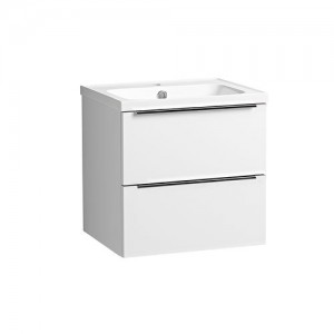 Tavistock CA500WW Cadence 50cm Wall Vanity Unit - White