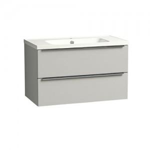 Tavistock CA800WG Cadence 80cm Wall Vanity Unit - Grey
