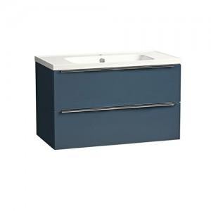 Tavistock CA800WOB Cadence 80cm Wall Vanity Unit - Blue