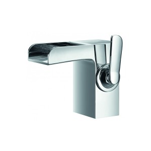 FLOVA Cascade basin mixer with clicker waste set