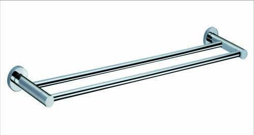 The White Space Capita Double Towel Rail - Chrome  [CAP10C]