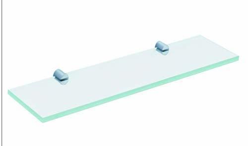 The White Space Capita Glass Shelf - Chrome  [CAP12C]