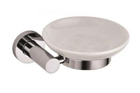The White Space Capita Soap Dish - Chrome  [CAP6C]