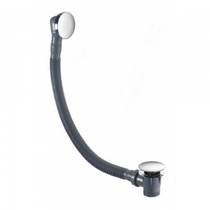 Flova CB1840 Deluxe Bath Clicker Waste with Overflow