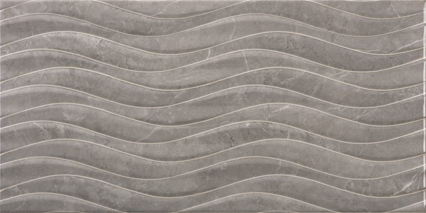 Craven Dunnill CDAZ184 Dorchester Wall Tile 600x300mm - Bend Gris Decor [Pack Quantity 100]