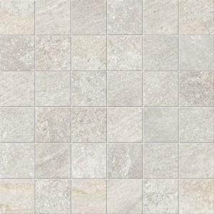 Craven Dunnill CDIM246 Dura Quartz Glazed Wall Tile 300x300mm - White Mosaic [Pack Quantity Single]
