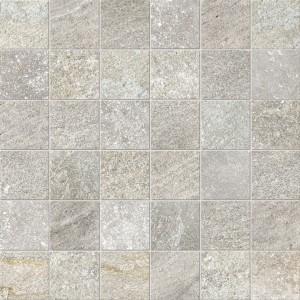 Craven Dunnill CDIM247 Dura Quartz Glazed Wall Tile 300x300mm - Ice Grey Mosaic [Pack Quantity Single]