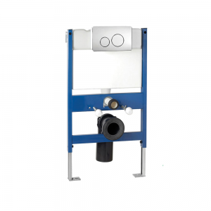 Imex Ceramics CF02FRONT Reduced Height Wall Hung WC Frame System With Front Dual Flush Plate