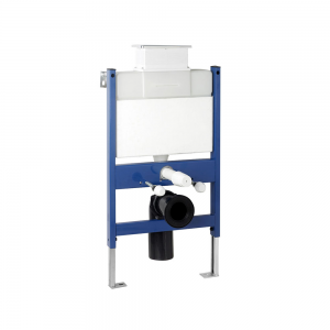 Imex Ceramics CF02TOP Reduced Height Wall Hung WC Frame System with Top Dual Flush Plate