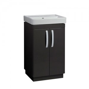 Tavistock CM500FC Compass 50cm Floorstanding Vanity Unit with Doors - Clay