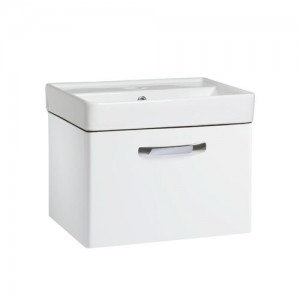 Tavistock CM500WW Compass 50cm Wall Hung Vanity Unit - White