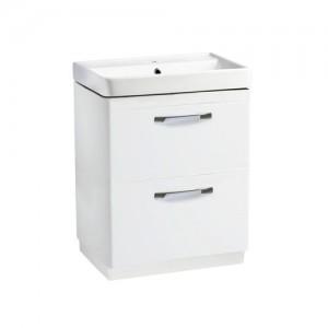 Tavistock CM600FDW Compass 60cm Floorstanding Vanity Unit with Drawers - White