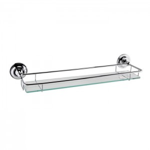 BC Designs CMA020 Victrion Gallery Shelf - Chrome