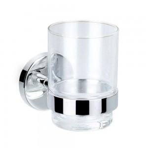 Flova CO8906-12 Coco Single Tumbler Holder with Glass
