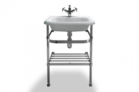 Burlington & Clearwater B7ES Washstand for Roll Top Basin (Small) 870 x 525mm Stainless Steel