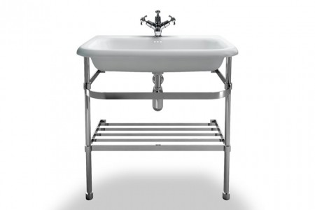 Burlington & Clearwater B9ES Washstand for Roll Top Basin (Large) 870 x 725mm Stainless Steel