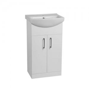 Tavistock DC12006 Opal 50cm Floorstanding Vanity Unit - White