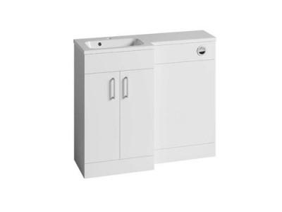 Tavistock DC12036 Nexus 50cm L Shape Basin Unit - White
