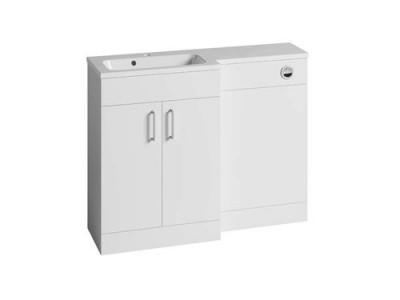 Tavistock DC12040 Nexus 60cm L Shape Basin Unit - White