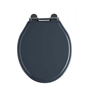Tavistock Vitoria Soft Close WC Seat - Matt Dark Grey [DC4004]