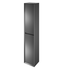 The White Space DISTBAG Distrikt 140cm Tall Cabinet - Anthracite Grey