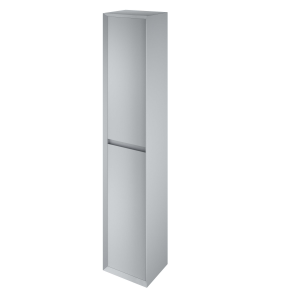 The White Space DISTBMG Distrikt 140cm Tall Cabinet - Mid Grey