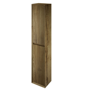 The White Space DISTBTO Distrikt 140cm Tall Cabinet - Oak
