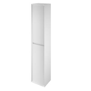 The White Space DISTBW Distrikt 140cm Tall Cabinet - White