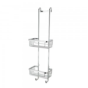 Roman - Double Hanging Shower Basket with Hooks  [RSB01]