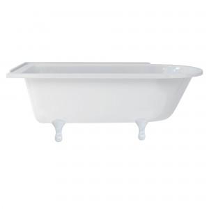 Burlington E10WHI Classical Bath Feet (Set of 4) White